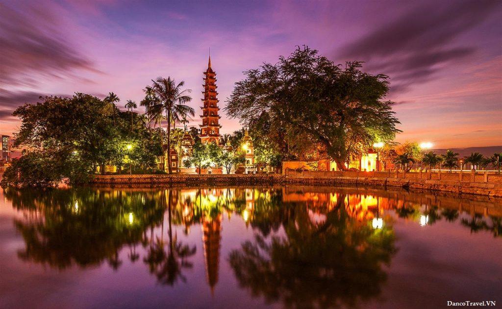 Pagode Tran Quoc - Voyage au Vietnam en famille