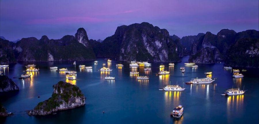 Baie d'Halong- Circuit Découverte Vietnam en profondeur