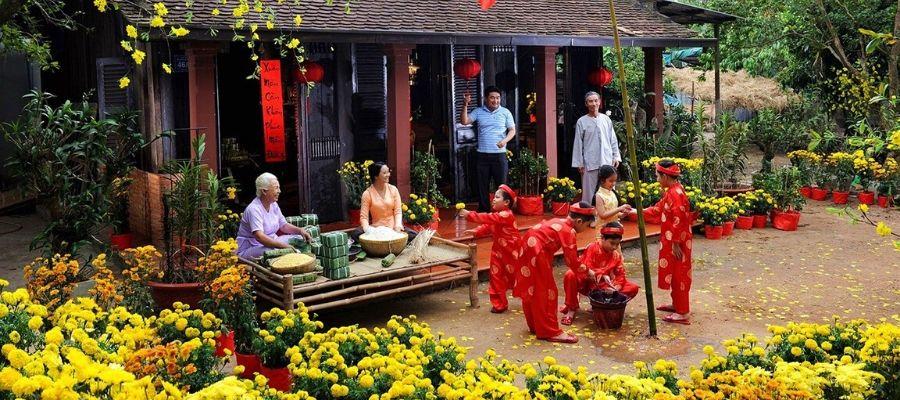 fêtes traditionnelles du Vietnam