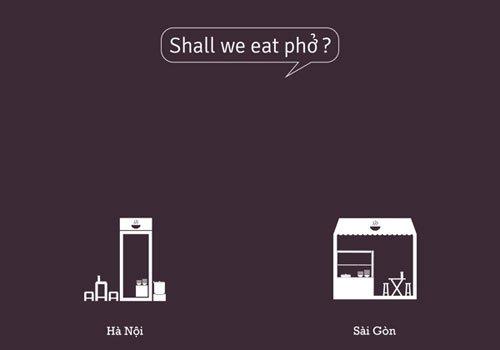 Différences entre Hanoï et Saïgon