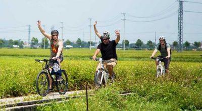 Circuit dans la campagne de Hoi An
