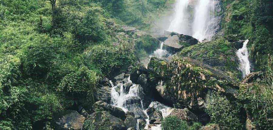 Magnifique cascade d'Argent Sapa