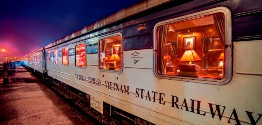 Train de nuit pour Lao Cai Sapa