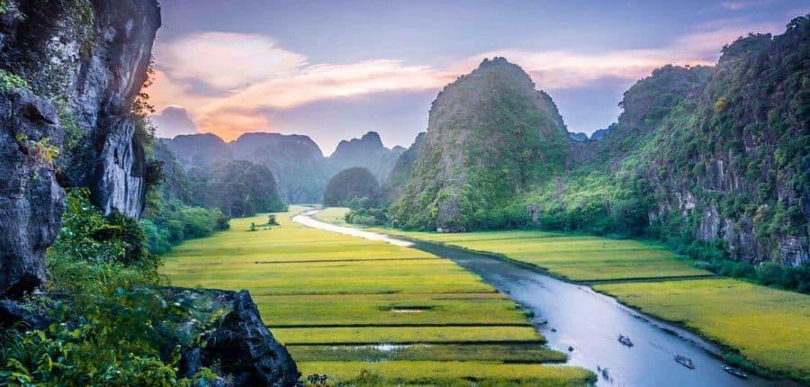 Visite de Ninh Binh - Circuit de luxe dans le nord et le centre du Vietnam 14 jours